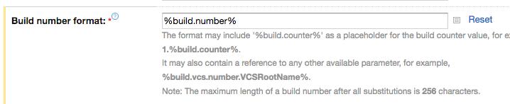 Build Number