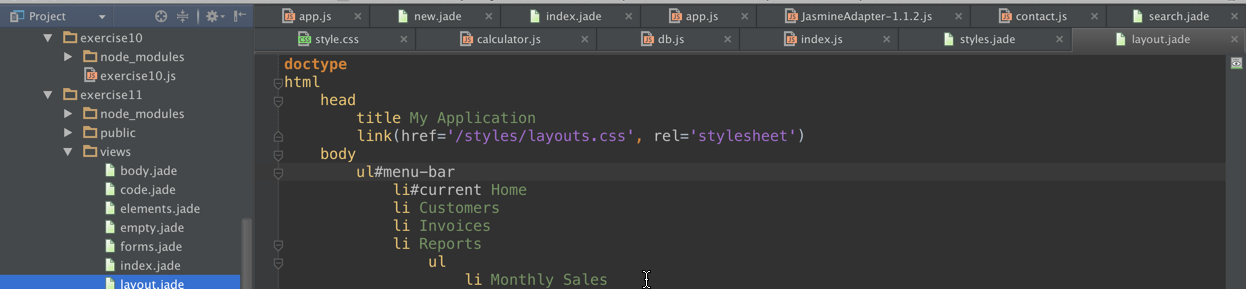 No Tabs in IntelliJ IDEA – Hadi Hariri
